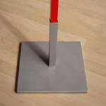 Tuinbord accessoir - Onder pinnen voetstuk-2
