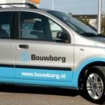 Vervoersreclame auto - Bouwborg