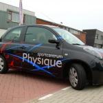 Vervoersreclame auto - Physique