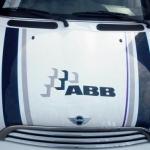 Vervoersreclame busje - ABB