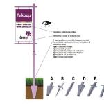 Tuinbord frame Bannerline - easysign v5 printversie
