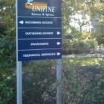 Entreebord - Unifine