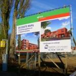 Bouwproject spandoek - Martens & van Schuppen