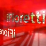 Ruitbestickering rood - Fiorreti