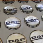 Doming stickers - DAF logo
