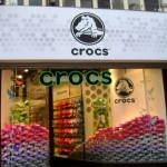 Gevel lichtreclame - Crocs