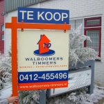 Tuinbord frame Fixedline - Walboomers Timmers