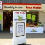 Diverse gevelreclame - Jaap Wallet