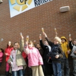 Gevelbord - Openluchtschool Rotterdam