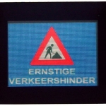 Led display - Ernstige verkeershinder