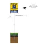 Tuinbord frame Lightline deluxe - easysign v5 printversie