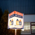 Tuinbord frame Lightline verlicht - N&H