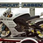 Vervoersreclame motor - Novabike Assen