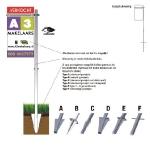 Tuinbord frame Swingline - easysign v5 printversie