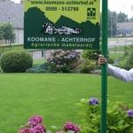 Tuinbord frame Swingline - Koomans Achterhof