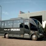 Vervoersreclame touringcars - Rok Spelersbus