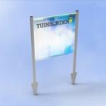 Tuinbordframe Twinline Banner