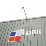 Uitgefreesde letters - DBR verlichting