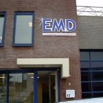 Uitgefreesde letters - EMD