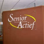 Uitgefreesde letters - Senior Actief