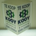 V bord / Raambord - Kooy Makelaardij