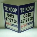 V bord / Raambord - Van Hooft & Postema