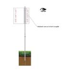 Tuinbord frame Vertiline Budget - easysign v5 printversie