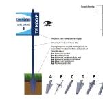 Tuinbord frame Vertiline - easysign v5 printversie