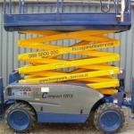 Vervoersreclame overige toepassing - hoogwerkservice