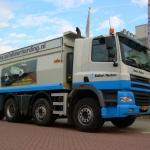 Vervoersreclame vrachtwagen - Ballast Nedam