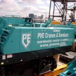 Vervoersreclame kraan - PVE