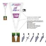 Tuinbord frame Vline Base - easysign v5 printversie