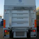 Vervoersreclame vrachtwagen - Huisma