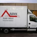 Vervoersreclame vrachtwagen - ASVZ