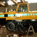 Vervoersreclame groot materieel - KNRM
