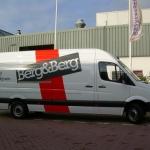 Vervoersreclame volledig wagenpark - Berg & Berg