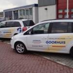Vervoersreclame volledig wagenpark - Goorhuis