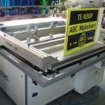 Zeefdruk en digitaal druk - makelaarsbord ABC Makelaars